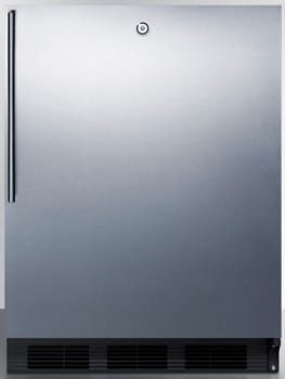 AccuCold AL752LBLSSHV - Stainless Door with Vertical Thin Handle