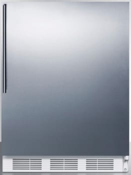 AccuCold ALB751SSHV - Stainless Door with Vertical Thin Handle