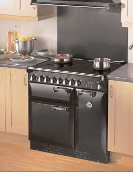 AGA Legacy ALEG36E - Kitchen View in Black