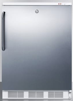 AccuCold ALF620LSSTB - Stainless Door with Pro Handle