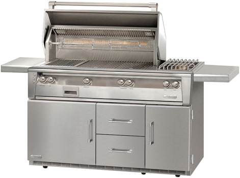 Alfresco ALXE56SZRLP - Freestanding LXE Grill on Refrigerated Cart