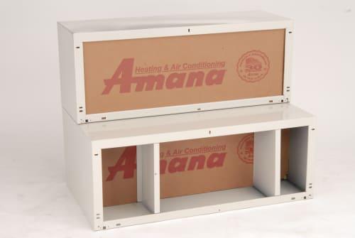 "Amana WS924D1 - 24"" Depth Insulated Steel Wall Sleeve"