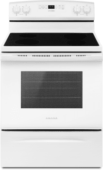 Amana AER6303MFW - Electric Range in White from Amana
