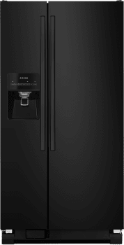 Amana ASI2275FRB - Side-by-Side Amana Refrigerator in Black