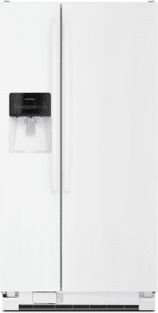 Amana ASI2275FRW - Side-by-Side Amana Refrigerator in White