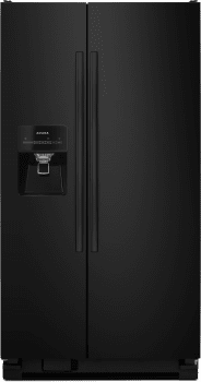 Amana ASI2575FRB - Side-by-Side Amana Refrigerator in Black