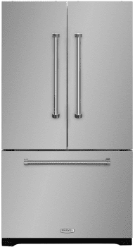 "AGA Professional Series AMPROFD23SS - 36"" Marvel Professional French Door Refrigerator - Featured View"