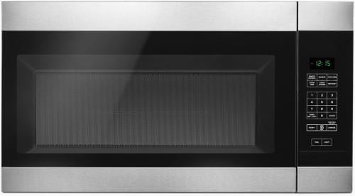 Amana AMV2307PFS - Amana 1.6 cu. ft. Over-the-Range Microwave in Black-on-Stainless