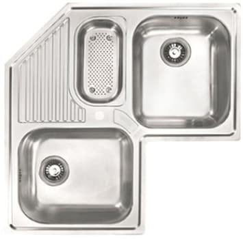 Franke Dealers : Franke AMX671E 33 Inch Top Mount Triple Bowl Stainless Steel Specialty ...