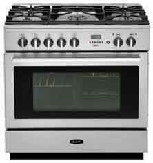 AGA Professional Series APRO36DFBNSS - Stainless Steel