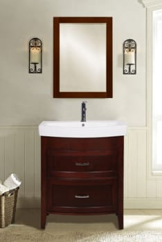 Empire Industries Arch Collection A2802B - Empire Industries 2-Drawer Vanity (also available in Black finish!)