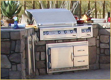 Alfresco ARFG42FB - Built In Refrigerator Base (Grill Sold Separately)