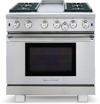 American Range Cuisine Series ARR436GDL - Front View