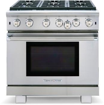 American Range Cuisine Series ARR636N - Front View