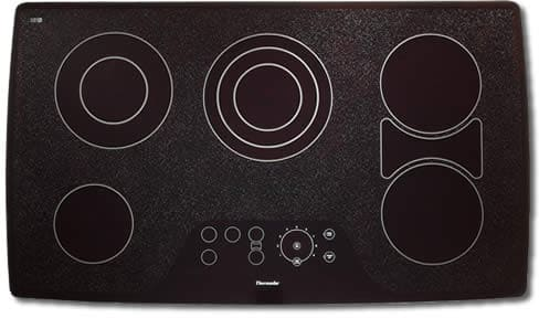 Thermador Cet365zb 36 Inch Smoothtop Electric Cooktop With 5 Ribbon Elements 1 X Triple Element Bridge Hot Surface Indicators Electronic Touch Controls