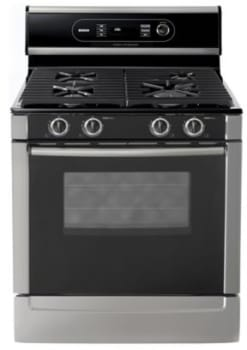 Bosch Evolution 500 Series HGS5042UC - Stainless Steel w/ Black Cooktop