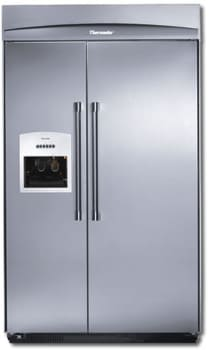 thermador 48 refrigerator. thermador kbudt4860a - with professional handle 48 refrigerator n