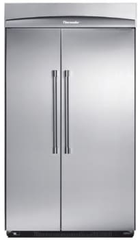 thermador 48 refrigerator. thermador kbuit4860a - with professional handle 48 refrigerator
