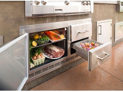 Alfresco ARXE42 - Alfresco Under-Grill Refrigerator
