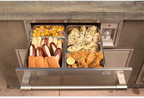 Alfresco Axewd30 30 Inch Built In Electric Warming Drawer