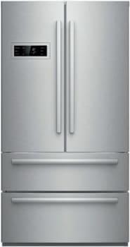 "Bosch 800 Series B21CL80SNS - 36"" 4-Door Counter-Depth Refrigerator"