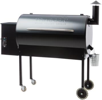 Traeger Texas Pro BBQ07502 - Traeger's Texas Pro Wood Pellet Grill in Blue