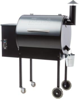 Traeger Lil' Tex Pro BBQ07E02 - Traeger's Lil' Tex Pro Wood Pellet Grill in Blue