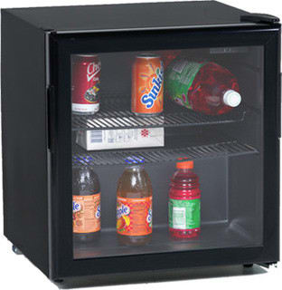 Avanti BCA196BG - 1.9 cu. ft. Beverage Center in Black with Glass Door