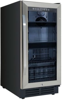 "Avanti BCA3115S3S - 15"" Built-In Deluxe Beverage Center"