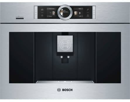Bosch Bcm8450uc S Built In Fully Automatic Coffee Machine Stainless Steel
