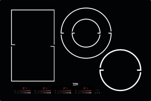 "Beko BCTI30410 - 30"" Induction Built-In Cooktop"