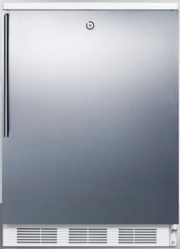 AccuCold BI540LSSHV - Stainless Door with Vertical Thin Handle