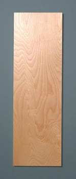 Iron-A-Way ANE46WDU - Standard Birch Wood Door