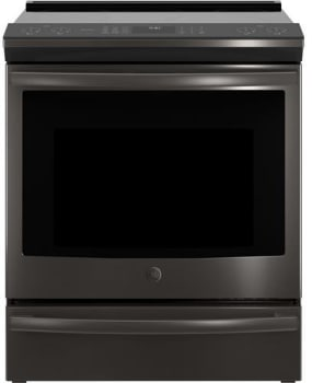 GE Profile PHS930BLTS - Black Stainless Front View