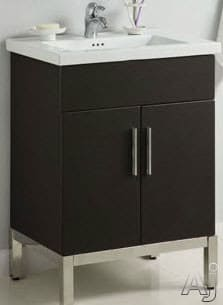 Empire Industries Daytona Collection WD2F2420BWS - Blackwood, Satin Finish