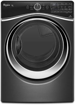 Whirlpool Duet Steam WED97HEDBD - Black Front View