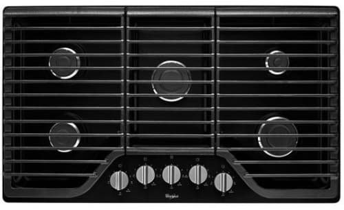 Whirlpool WCG51US6DB - Black Front View