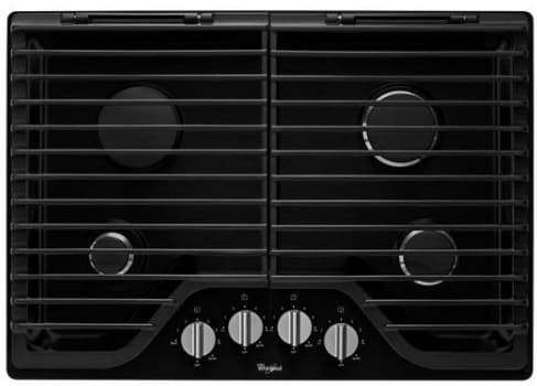 Whirlpool WCG75US0DB - Black Front View