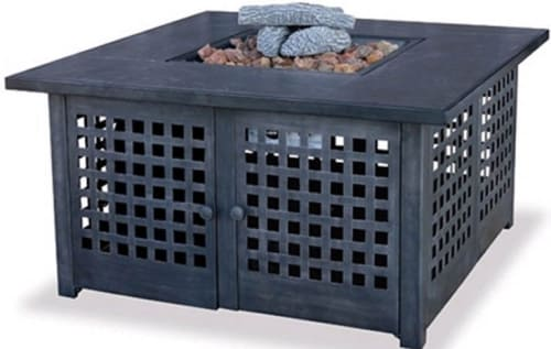 Blue Rhino GAD920SP - 41-inch Liquid Propane Fireplace w/ Tile Mantel