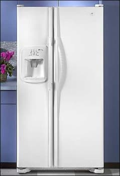 Maytag Msd2756gew 27 Cu Ft Side By Side Refrigerator W Cubed Crushed Ice And Water Dispenser White