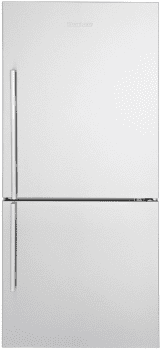 "Blomberg BRFB1812SSN - 30"" Bottom Freezer Refrigerator with Optional Ice Maker Freezer Drawer"