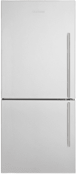 "Blomberg BRFB1822SSLN - 30"" Bottom Freezer Refrigerator with Optional Ice Maker Freezer Drawer"
