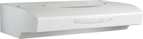 Broan Allure III QS3 Series QS342WW - White Front View