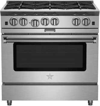 "BlueStar Platinum Series BSP366B - 36"" Platinum Series Gas Range"