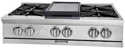 "BlueStar Platinum Series BSPRT366B - 36"" Platinum Series Rangetop"