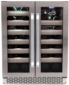 Whynter Elite BWR401DS - 40 Bottle Dual Zone Wine Refrigerator