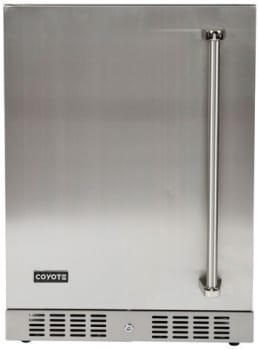 "Coyote C1BIR24L - Coyote's 24"" Outdoor Refrigerator with 4.1 cu. ft. Capacity, Left Hand Door Swing"