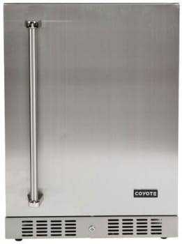 "Coyote C1BIR24R - Coyote's 24"" Outdoor Refrigerator with 4.1 cu. ft. Capacity, Right Hand Door Swing"