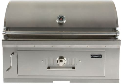 Coyote C1ch36 36 Built In Charcoal Grill