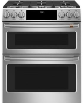 4fb61b651 Cafe C2S950P2MS1 30 Inch Slide-In Double Oven Dual Fuel Range with ...